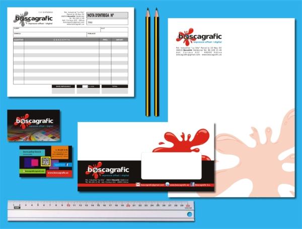Diseño e impresión de la imagen corporativa