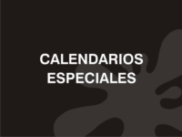 Calendarios especiales