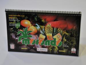 Calendarios sobremesa cabaña con gusanillo