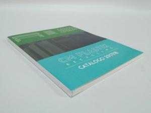 Catálogo A4 4+4 tintas. Encuadernación hilo