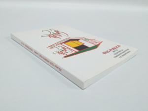 Libro 16x24 cm tapas cartulina plastificado brillo, encuadernado hilo