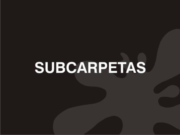 Subcarpetas elegantes